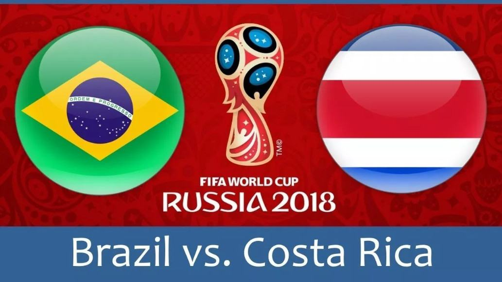 Soi kèo Brazil-Costa Rica World Cup 2018